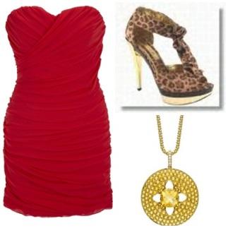 cheetah platform heels