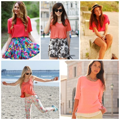 Coral Tops