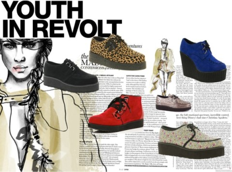 Weekly obsession creepers by natz the rebel featuring creeper shoes