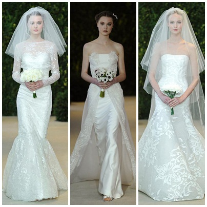 Bridal Fashion Week - Carolina Herrera 2
