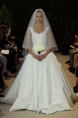 2014 Bridal Spring/Summer Collection - Carolina Herrera - Show