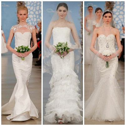 Bridal Fashion Week - Oscar de la Renta 1