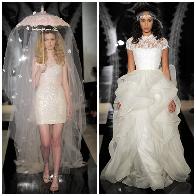Bridal Fashion Week - Reem Acra 1