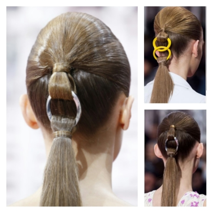 Chain-Link Ponytail