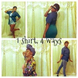 Fashion Fridays _ 1 Shirt, 4 Ways